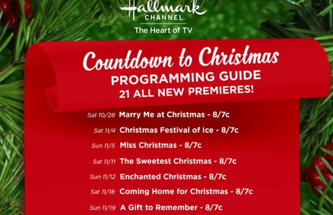 Hallmark Channel releases Christmas movie lineup for 2017